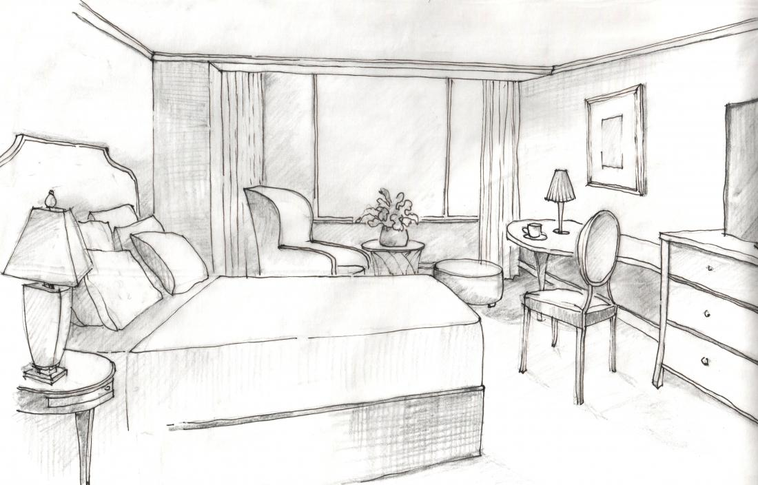 Hotel Room Drawing Images Galleries